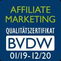 """netzeffekt erhält erneut """"BVDW Zertifikat Affiliate Marketing"""""""